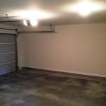 2 car garage interior