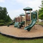 playground next to house